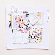 Making A Bridal Shower Scrapbook – Scrapbooking Fun! Bridal Shower Scrapbook, Wedding Scrapbook, Baby Scrapbook, Scrapbook Paper Crafts, Scrapbook Cards, Paper Crafting, Recipe Scrapbook, Create A Family, Scrapbooking Layouts
