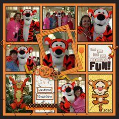 Terrific Tigger - MouseScrappers - Disney Scrapbooking Gallery