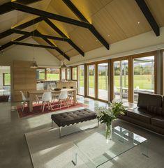 Team Green Architects | Queenstown | Hawthorn Contemporary Farm |  Interior
