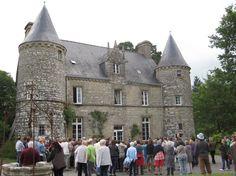6ème édition des Apéros-Patrimoine au manoir de la Coquillonnaie à Tremblay.