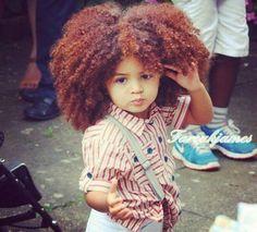 Beautiful Natural Curls And Color - www. Beautiful Natural Curls And Pelo Natural, Natural Curls, Natural Hair Care, Natural Hair Styles, Beautiful Children, Beautiful Babies, Adorable Babies, Big Hair, Your Hair