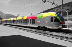 Treno valdaora. #train #sudtirol #dobbiaco #toblach #valdaora #viaggio #treno #carrozza