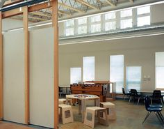 Moss Street Children's Center | Mahlum - Moveable flexible walls