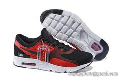 official photos 0da12 05b72 Men s Nike Air Max Zero Sneaker Black Red