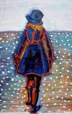 "Saatchi Art Artist Stéphanie de Malherbe; Painting, ""Promenade II"" #art"