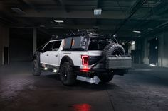 Royal Appearance of Gray Lifted Ford Raptor with on Black Rotiform Wheels Truck Bed Tent, Truck Bed Camper, Tactical Truck, Tactical Gear, Truck Bed Storage Box, Ford Raptor, Ford Svt, Svt Raptor, Watch Photo