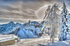 Reg Saddler - Google+ - Monte Lussari, Italy