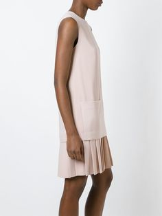 Joseph pleated hem shift dress