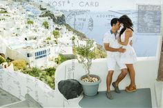 #Santorini #photoshoot #vacation #Greece #caldera #summer #love #Destination #Post-wedding #Photoshoot #photographer