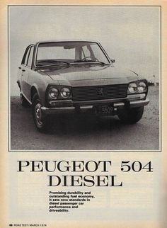 17 Best Peugeot 504 Advertisements Images Cars Car Advertising