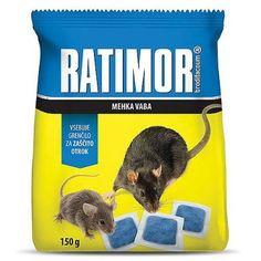 Návnada RATIMOR® Brodifacoum fresh bait, 120 g, mäkká Fresh, Products