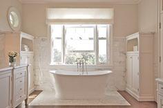 Shabby & Charme: Idee per un bagno total white….total white bathrooms