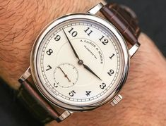 Hands-on review & original photos of the A. Lange & Söhne 1815 200th Anniversary F.A. Lange watch with price, background, specs, & expert analysis.
