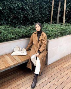 Casual Hijab Outfit, Hijab Chic, Hijab Dress, Modest Outfits, Modest Fashion, Fashion Outfits, Muslim Women Fashion, Korean Fashion, Hijab Moda