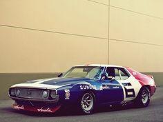 Mark Donahue AMC Javelin Penske Trans-Am 1971 Champion