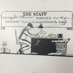 The Buchtelite Staff-The TEL-BUCH Yearbook 1914
