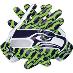 Seattle Seahawks Lockup Gloves and T-Shirt  aaca16ce1