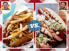This week it's Jeff Mauro and Scott Conant in the #FoodNetworkStar vs. #Chopped Summer Showdown.