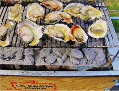 Chef Perry's #grilling tips will help you to make #delicious #Oysters on La Caja China's grill racks!  #LaCajaChina #bbq