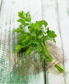 PEREJIL-LIMPIA TUS RIÑONES E HIGADO Parsley, Glass Vase, Herbs, Decor, Magic Herbs, Cleanses, Healthy, Vegetables, Plants