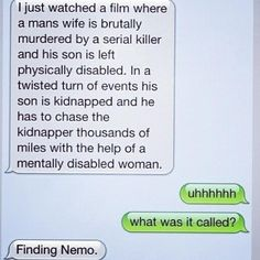 Finding Nemo, a new perspective!..haha