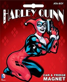 Ata-Boy DC Comics Die-Cut Harley Quinn Giant Magnet >>> Final call for this special discount  : Christmas Home Decor