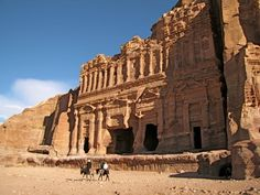 Petra, Jordan - Royal Tombs
