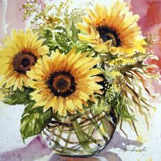 sunflower art - Goog