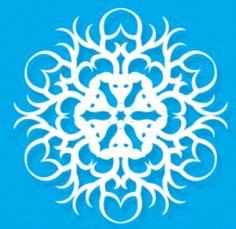 19 Best Diy Pop Culture Paper Snowflakes Images On Pinterest Paper