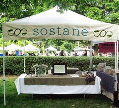 cool banner on this craft fair booth   #craft show #craft fair #booth display ideas