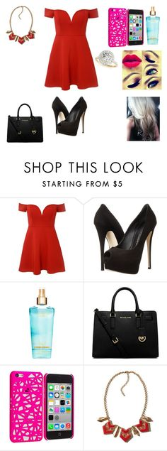 """""""im gonna love you like im gonna lose you"""" by sarahmickie on Polyvore featuring Giuseppe Zanotti, Michael Kors, Hollister Co. and Allurez"""
