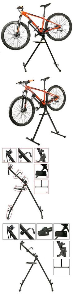 Workstands 177847: Telescopic Bike Repair Rack Bicycle Repairing Stand Adjustable 31.5 To 47 L5e1 -> BUY IT NOW ONLY: $36.92 on eBay!