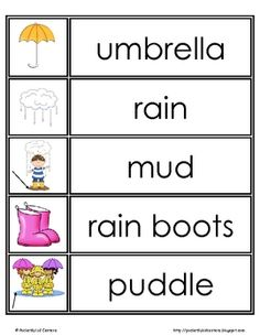 this free download includes 30 printable spring word wall words use them on a seasonal - Spring Pictures To Download