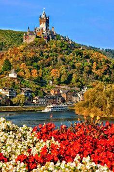 Rhine river, Cochem, Germany