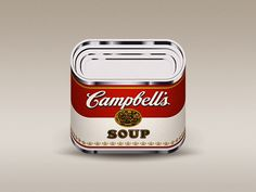 Cambell's Soup Can App Icon