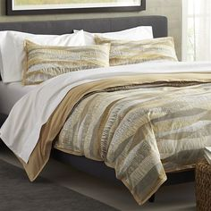 Landscape Duvet Covers and Pillow Shams  | Crate and Barrel