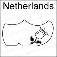 Netherlands Rubber Stamp