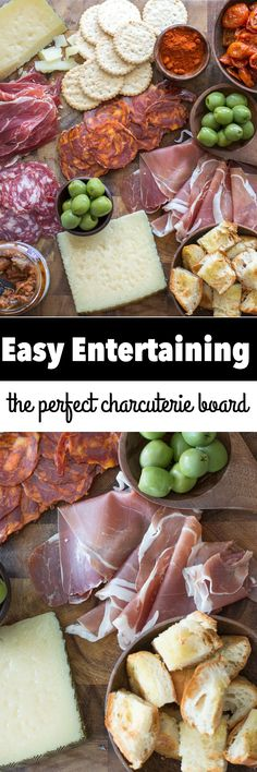 learn how to make the perfect charcuterie board for easy entertaining packed with cured meats and salty cheeses from hemisfares this will make entertaining