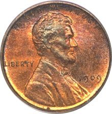 On August the Lincoln Penny was the first American coin to bear the likeness of a president on its face. Proof Lincoln Cents, 1909 VDB Red and Brown PCGS. American Coins, American Presidents, Us Presidents, American History, Lincoln Life, Abraham Lincoln, Lincoln Quotes, History Facts, World History