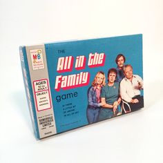 Vintage TV Show All in the Family Game by Milton Bradley
