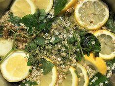 Der Holunder blüht. Was ich daraus herstelle? Holunderblütentee, Holunderblütensirup. #edgarten #gartenblog #holunder Seaweed Salad, Natural, Ethnic Recipes, Food, Harvest, Rezepte, Nature, Meals, Au Natural