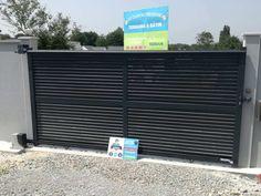 Aluminium sliding gate DENIA - Mister Gates Direct Sliding Gate, White Vinyl, Gates, 10 Years, Wine Press, Sliding Door, Gate