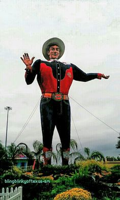"The Great State Fair of Texas' ""Big Tex"""