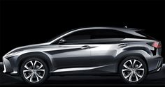 2016 Lexus RX Sketch 1