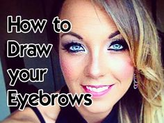 How to draw your Eyebrows for Beginners