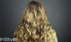 "Add Volume to Your Hair with the 16"" Ombre Extension."
