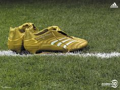 Zinedine Zidane, Gold Predators (World Cup 2006 Final) by Ahqib Hussain, via Flickr