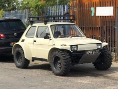 Fiat 126 off roader Fiat 126, Pajero Off Road, Monster Trucks, Vw Touareg, Automobile, Fiat Cars, Lifted Cars, Unique Cars, Small Cars