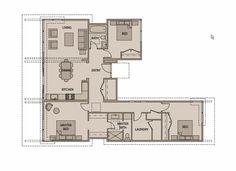 Casa En Planta Prefabricada | Planos de Casas
