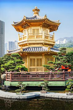 Pagoda at Nan Lian Garden, Hong Kong